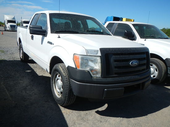 2011 FORD F150 PICKUP 159K+  EXTENDED CAB, V8 GAS , AT, PS, AC S# 1FTFX1CF7