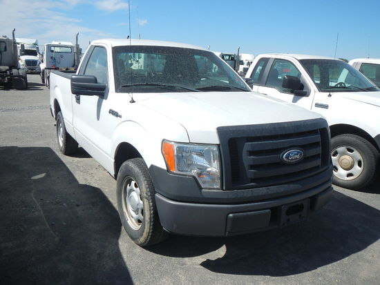 2010 FORD F150 PICKUP, 101801  V8 GAS, AT, PS, AC S# 1FTMF1CW4AKE05628 C# 7