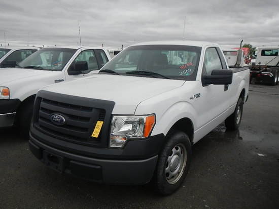 2010 FORD F150 PICKUP, 107248  V8 GAS, AT, PS, AC S# 1FTMF1CW8AKE08676 C# 7