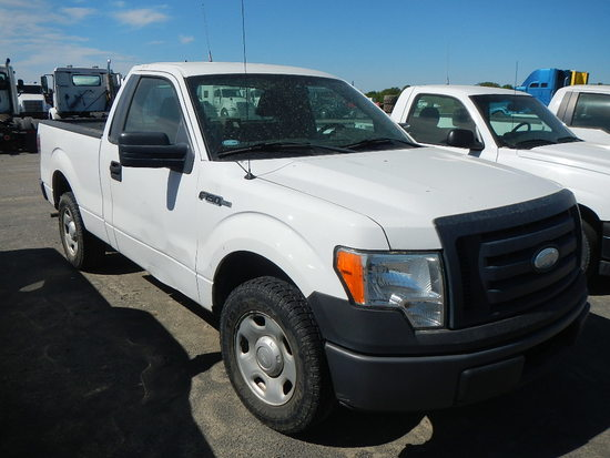 2009 FORD F150 PICKUP, 86,114+  V8 GAS, AT, PS, AC S# 1FTRF12WX9KB97743 C#
