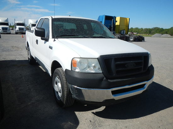 2008 FORD F150 PICKUP, 164423  EXTENDED CAB, V8 GAS, AT, PS, AC S# 1FTRX12W