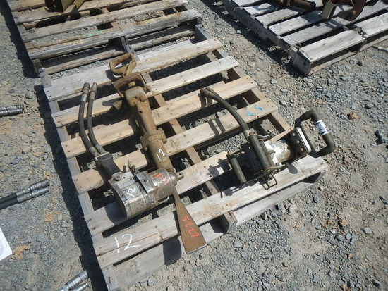 """(2) IMPACT WRENCHES,  HYDRAULIC, 1"""" AND (1) JACK HAMMER"""