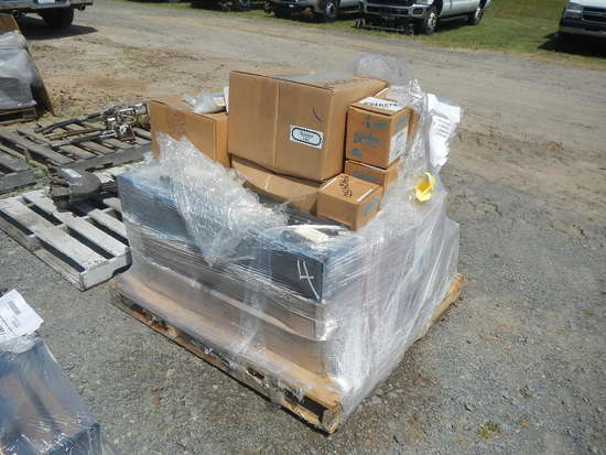 PALLET WITH NORDCO PARTS