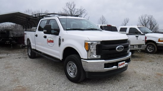 2017 FORD F250 XL PICKUP TRUCK, 17,137  4-DOOR, 4X4 ON THE FLOOR, LOCKER, G