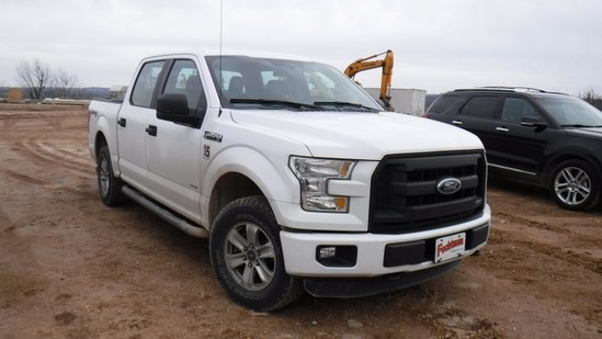 "2015 FORD F150 XL PICKUP TRUCKS, 114,717 Miles  ""SPORT"" SERIES, 4-DOOR, 4X4"