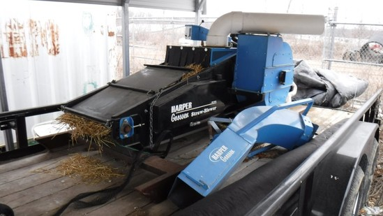 2015 HARPER SB3500 STRAW BLOWER,  VANGUARD 31 GAS ENGINE, C# 57