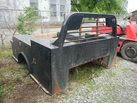 CM FLATBED,  WITH TOOLBOXES, FITS 1-TON PICKUP