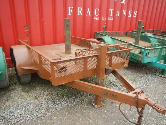 BLOWOUT PREVENTER TRAILER,  5' X 8', SINGLE AXLE S# N/A