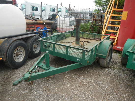 BLOWOUT PREVENTER TRAILER,  4' X 8', SINGLE AXLE S# N/A