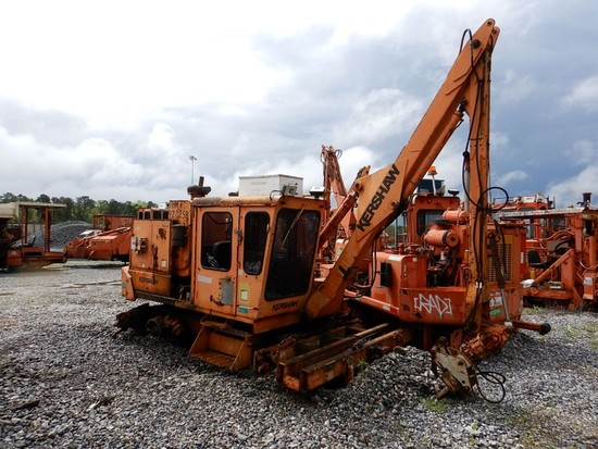 1992 KERSHAW 11-3-4 TIE CRANE,   LOAD OUT FEE: $150.00 S# 11-230-92 C# THM9