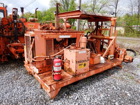 1993 JACKSON 925 TIE REMOVER/INSERTER,   LOAD OUT FEE: $225.00 S# 137092 C#