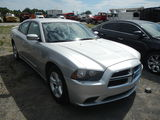 2011 DODGE CHARGER 4 DOOR CAR,  V-6 GAS, AT, PS, AC S# 112072