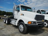 2004 STERLING TRUCK TRACTOR, 163,799 mi on meter  DAY CAB, MERCEDES BENZ DI