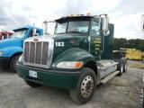 2013 PETERBILT 382 TRUCK TRACTOR, 334,577 MI,  DAY CAB, CNG NATURAL GAS, AL