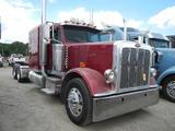 2008 PETERBILT 389 TRUCK TRACTOR,  EXTENDED HOOD, 63