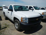 2007 CHEVROLET 1500 PICKUP TRUCK,  V8 GAS, AUTOMATIC, PS, AC, (DOOR CHANGED