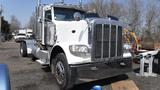 2010 PETERBILT 389 TRUCK TRACTOR, 630K + mi,  DAY CAB, CUMMINS ISX 500HP DI