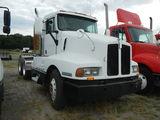 1995 KENWORTH T600 TRUCK TRACTOR, 860k + mi,  DAY CAB, DETROIT 60 SERIES DI
