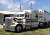 2007 PETERBILT 379 TRUCK TRACTOR,  BIG TALL SLEEPER, CAT ACERT 550HP DIESEL