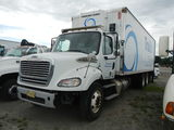 2012 FREIGHTLINER BUSINESS CLASS-M2 REEFER BOX VAN TRUCK,  (PARTS MISSING O