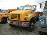 2001 CHEVROLET C7500 CAB & CHASSIS,  CAT 3126 DIESEL, (NO TRANSMISSION, NO