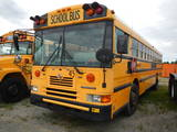 2002 INTERNATIONAL GA39530 SCHOOL BUS, 132k + mi,  IH DT466 DIESEL, AUTOMAT