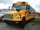1991 FREIGHTLINER/BLUEBIRD SCHOOL BUS, 166K + mi,  40 PASSENGER, CATERPILLA