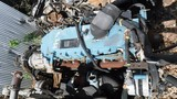 I. H. DT466 DIESEL ENGINE CORE  WITH ALLISON AUTOMATIC TRANSMISSION