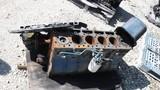 DT466E BLOCK, PISTONS, OIL PAN