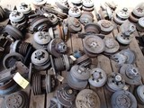 LOT OF BELT PULLEY CLUTCHES