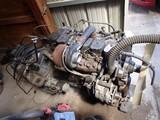 CUMMINS 12-V DIESEL ENGINE  WITH AUTOMATIC TRANSMISSION