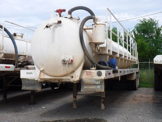2009 TROXELL 130BBL VACUUM TRAILER TRAILER