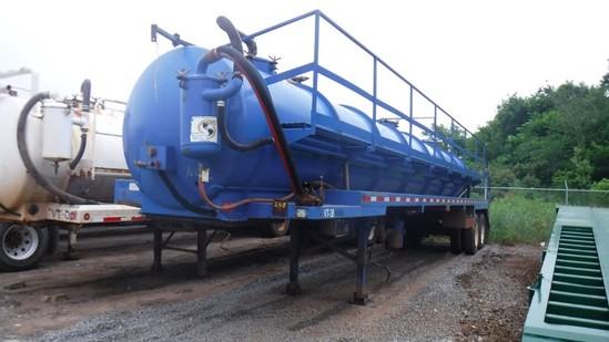 2012 GVS 130BBL Vacuum Tanker Trailer