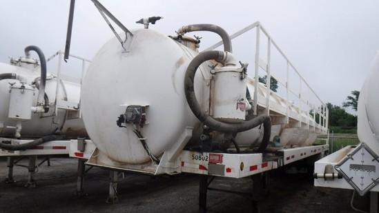 2006 Troxell 130BBL Vacuum Tanker Trailer  Tandem Axle, Spring Ride, S# 1T9