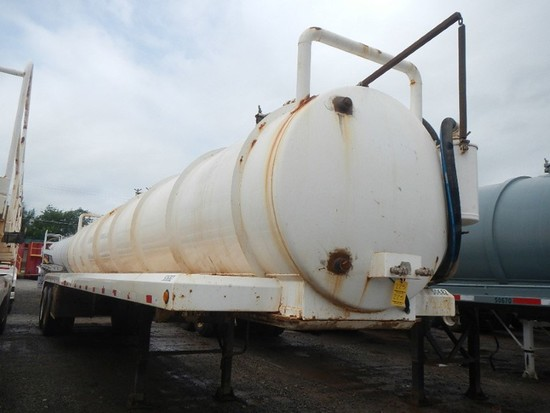2015 Tanko 130BBL Vacuum Tanker Trailer
