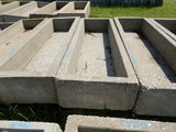 CONCRETE CATTLE FEED TROUGH