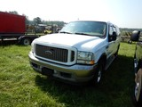 2003 FORD EXCURSION SUV, 234,942 MILES  V8 DIESEL, AT, PS, AC, CRUISE S# 1F