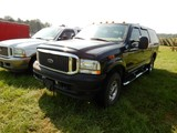 2004 FORD EXCURSION SUV, 114,277 MILES  4X4, V8 DIESEL, AT, PS, AC, CRUISE