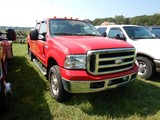 2005 FORD F250 PICKUP TRUCK, 66,391 MILES  4X4, POWERSTROKE DIESEL, AT, PS,