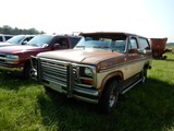 1985 FORD BRONCO SUV, 27,872 MILES ON METER  4X4, V8 GAS, AT, PS, AC (NOT R