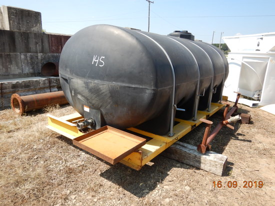 WATER TANK,  1,500-GALLON, WITH SPRAY BOOM