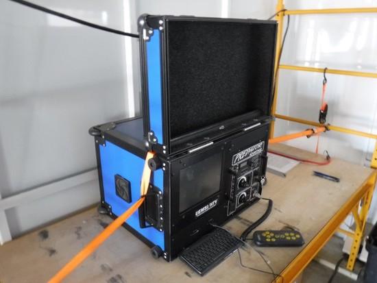 UEMSI/HTV PREDATOR ADVANTAGE PIPELINE HOSE INSPECTION SYSTEM,  COLOR SCREEN