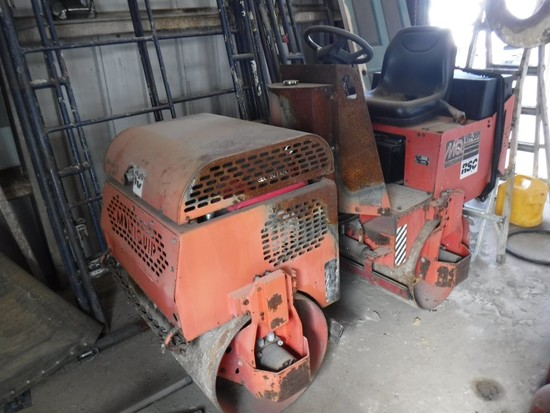 """MULTIQUIP VR-36H ROLLER,  36"""" SMOOTH DRUMS, HONDA GX630 ENGINE, ARTICULATED"""