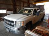 2008 CHEVROLET 2500 PICKUP TRUCK, 212,000+ mi,  CREW CAB, V8 GAS, AUTOMATIC