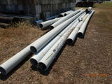 LOT OF POLY PIPE