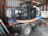 CORNELL WATER PUMP,  SELF PRIMING, JOHN DEERE DIESEL ENGINE WITH 670 HOURS