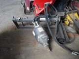 MCMILLEN X1975 AUGER ATTACHMENT,  HYDRAULIC, FITS SKID STEEER & MORE, WITH
