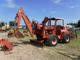 1998 DITCH WITCH 7610DD COMBO TRENCHER/BACKHOE, 1042 HRS  4X4, CANOPY, HYD