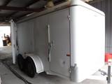 2013 CARGO MATE CMC5240-12 ENCLOSED CARGO TRAILER,  TANDEM 3500LB AXLES, RE