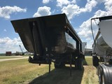 2003 CLEMENT BUSTER END DUMP TRAILER,  26', STEEL, CENTERPOINT SPRING RIDE,